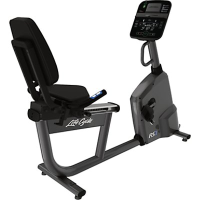 Life Fitness RS1 Lifecycle Recumbent Exercise Bike with Track Connect Console