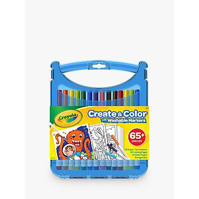 Crayola Supertips Washable Marker Set