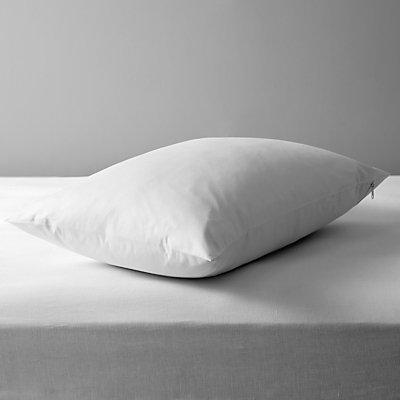John Lewis Micro Fresh Anti Allergy Waterproof Enclosed Pillow Protector - 20649357