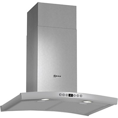 Neff D86DK62N0B Curved 60cm Stainless Steel Chimney Cooker Hood 4242004175049