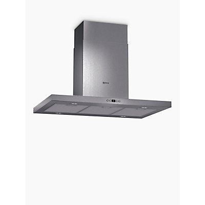 Neff I79SH52N0B Low Profile 90cm Island Cooker Hood Stainless Steel - 4242004174608
