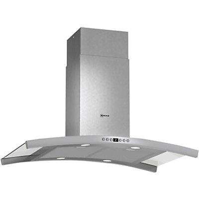 Neff I89DK62N0B Stainless Steel Island Cooker Hood   W  900mm - 4242004175100