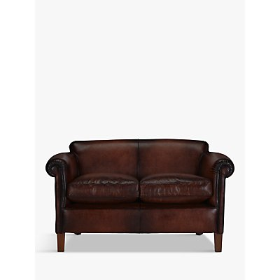 John Lewis Camford Petite Leather Sofa