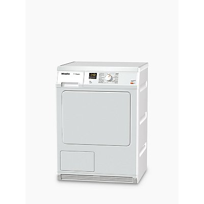 Miele TDA150C Condenser Freestanding Tumble Dryer, 7kg Load, B Energy Rating, White