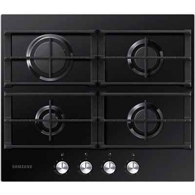 8806086030861 | Samsung NA64H3000AK gas hobs  in Black   Glass