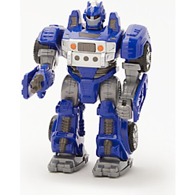 John Lewis & Partners Small Robot Toy, Blue