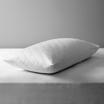 John Lewis Cotton Quilted Pillow Protector  Kingsize - 21067013