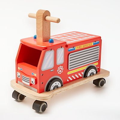 John Lewis & Partners Fire Engine Ride On