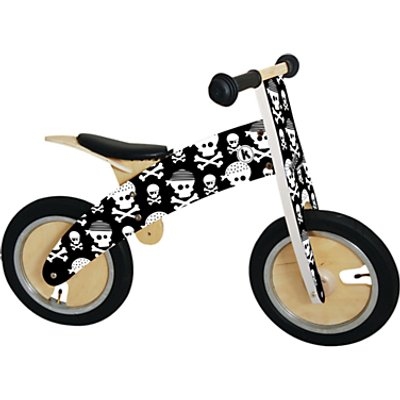 Kiddimoto Kurve Balance Bike, Skullz