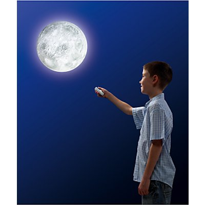 Remote-Controlled Illuminated Moon