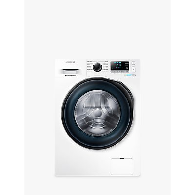 Samsung WW80J6410CW Freestanding Washing Machine, 8kg Load, A+++ Energy Rating, 1400rpm Spin, White