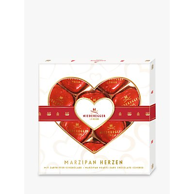 Niederegger Dark Chocolate Covered Marzipan Hearts