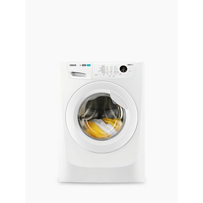 Zanussi ZWF81463W Freestanding Washing Machine, 8kg Load, A+++ Energy Rating, 1400rpm Spin, White