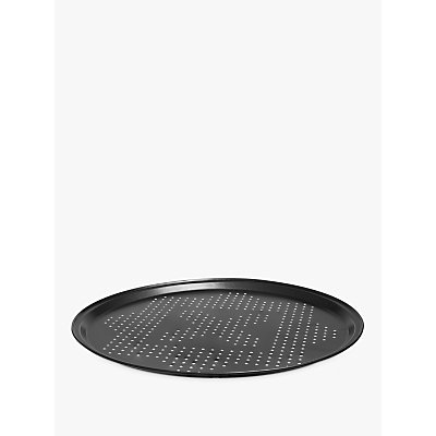 John Lewis & Partners Classic Non-Stick Pizza Tray, 30cm