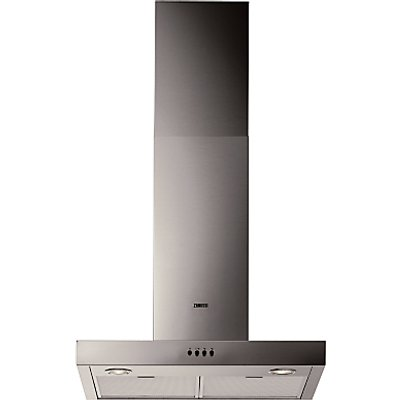 7332543397778 | Zanussi ZHC62661XA Box Design 60cm Chimney Cooker Hood Stainless Steel