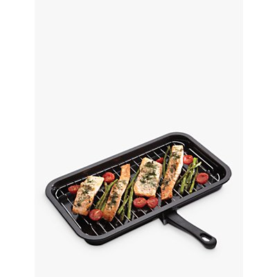Kitchen Craft Enamel 40cm Grill - 5028250157065
