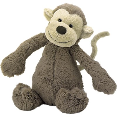 Jellycat Bashful Monkey Soft Toy, Huge