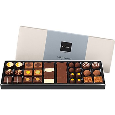 Hotel Chocolat Milk to Caramel Sleeks Selection Box