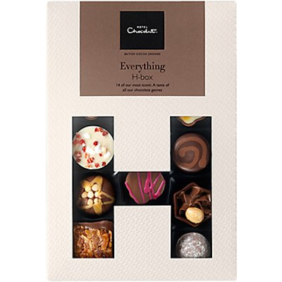Hotel Chocolat Everything H-Box Selection Box