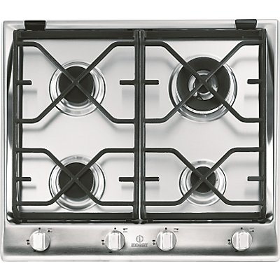 Indesit IP641SCIX Prime Built In Gas Hob  Stainless Steel 8007842872835
