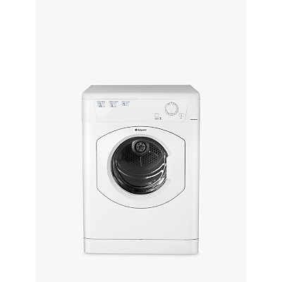 Hotpoint TVHM80CP Vented Tumble Dryer  8kg Load  C Energy Rating  White - 5016108860496