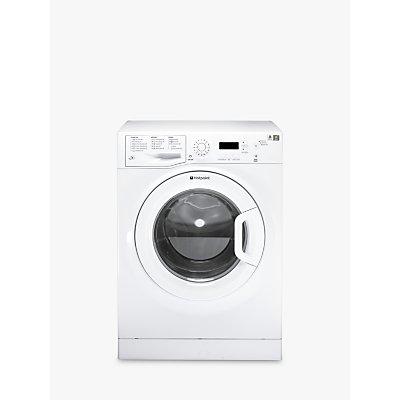 Hotpoint Aquarius WMAQF621P Slim Depth Freestanding Washing Machine, 6kg Load, A+ Energy Rating, 1200rpm Spin, White