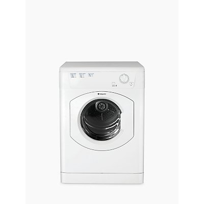 Hotpoint FETV60CP First Edition Vented Tumble Dryer, 6kg Load, C Energy Rating, White