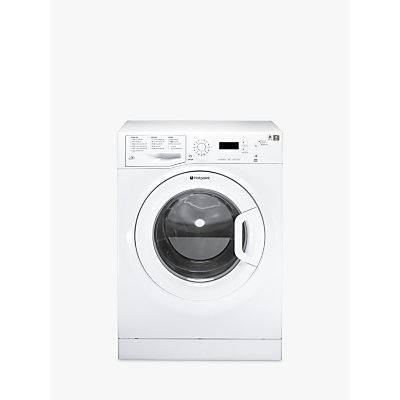 Hotpoint Aquarius WMAQF641P Freestanding Washing Machine, 6kg Load, A+ Energy Rating, 1400rpm Spin, White