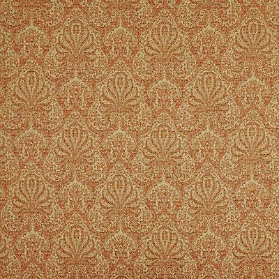 John Lewis Tripoli Damask Furnishing Fabric  Red - 21726668