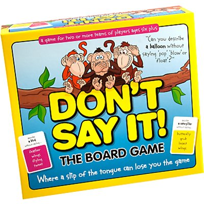 Don't Say It! The Board Game