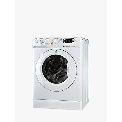 Indesit Innex XWDE751480XW Freestanding Washer Dryer, 7kg Wash/5kg Dry Load, A Energy Rating, 1400rpm Spin, White