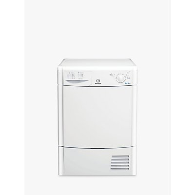 Indesit IDC8T3B Ecotime Freestanding Condenser Tumble Dryer, 8kg Load, B Energy Rating, White