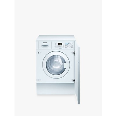 Siemens WK14D321GB iQ300 Integrated Washer Dryer, 7kg Wash/4kg Dry Load, A Energy Rating, 1400rpm Spin