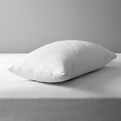 John Lewis Micro Fresh Waterproof Quilted Pillow Protector - 21936883