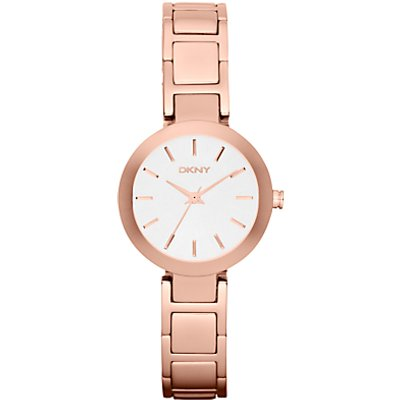 DKNY NY2400 Women s Stainless Steel Stanhope Bracelet Strap Watch  Rose Gold - 4053858559417