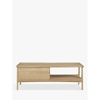 John Lewis & Partners Duhrer TV Stand for TVs up to 60, Oak
