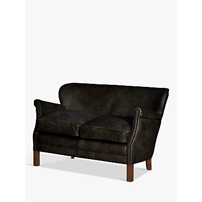 Halo Little Professor Petite 2 Seater Leather Sofa