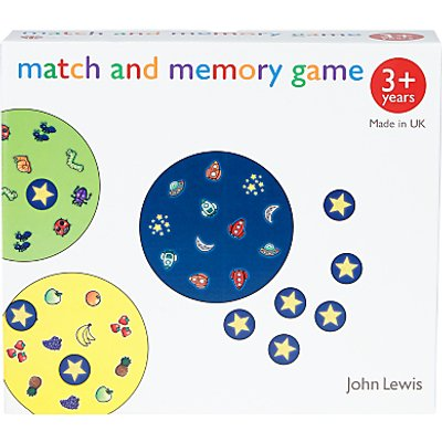 John Lewis & Partners Memory Game