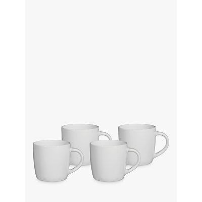 John Lewis   Partners The Basics Mug  Set of 4 - 22186164