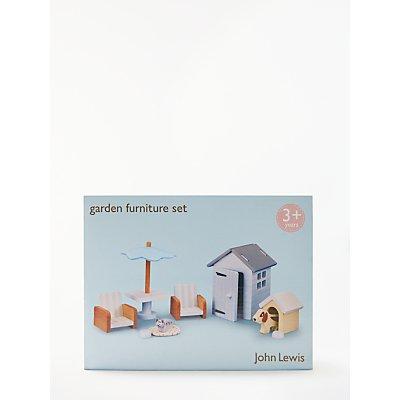 John Lewis & Partners Doll's House Garden Furniture Set