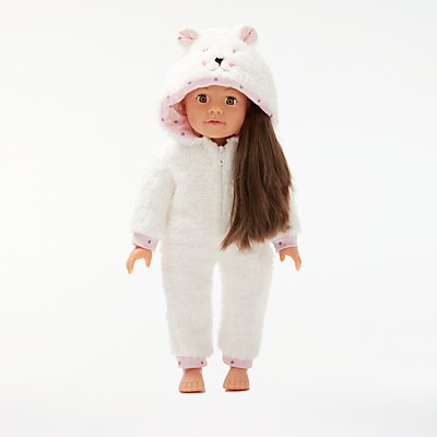 John Lewis & Partners Collector's Doll Onesie Outfit