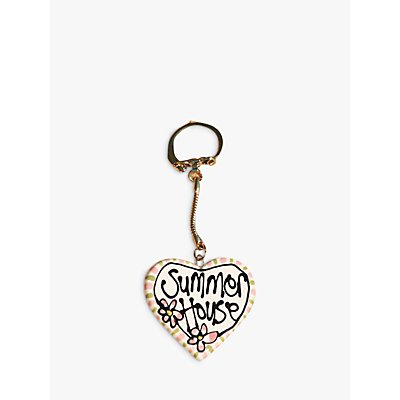Gallery Thea Personalised Heart Keyring