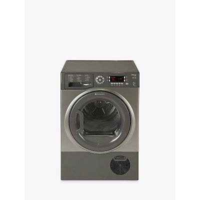 Hotpoint Ultima SUTCD97B6GM Freestanding Tumble Dryer, 9kg Load, B Energy Rating, Graphite