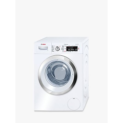 Bosch WAW28750GB Freestanding Washing Machine, 9kg Load, A+++ Energy Rating, 1400rpm Spin, White