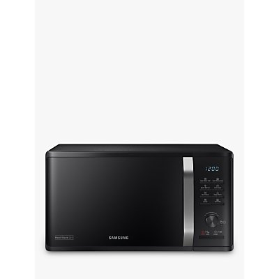 Samsung MG23K3575AK/EU Freestanding Microwave Oven with Grill, Black