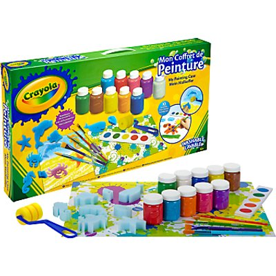 Crayola My Painting Case Kit
