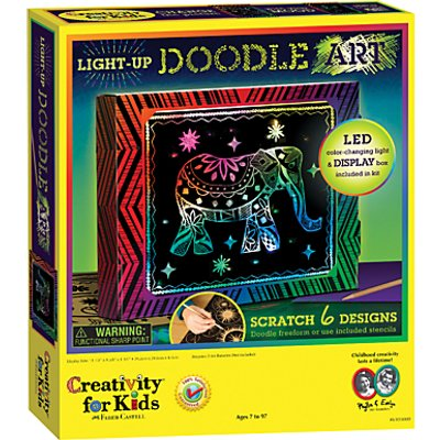 Creativity for Kids Light Up Doodle Art