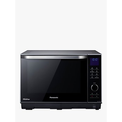 Panasonic NN-DS596BBPQ Freestanding 4-in-1 Steam Combination Microwave Oven with Grill, Black