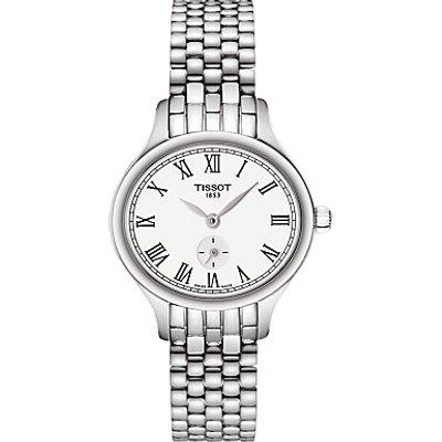 Tissot T1031101103300 Women s T Lady Bella Ora Bracelet Strap Watch  Silver White - 7611608274941