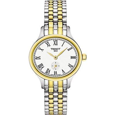 Tissot T1031102203300 Women s Bella Ora Piccola Two Tone Bracelet Strap Watch  Silver Gold - 7611608274972